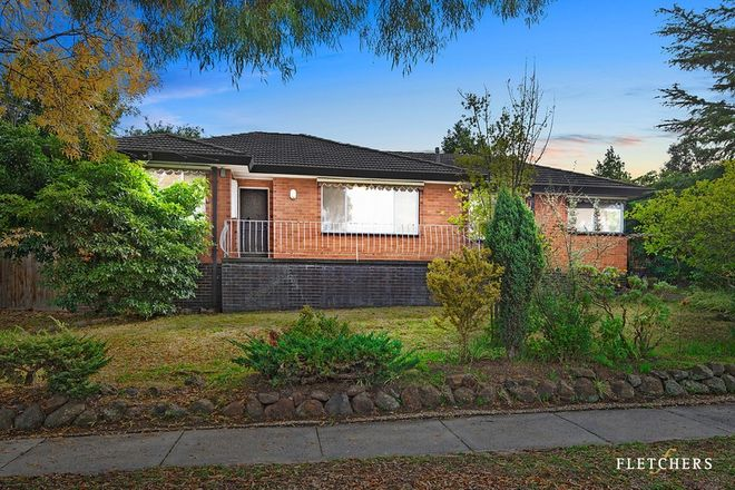 Picture of 37 Harrison Avenue, BURWOOD VIC 3125