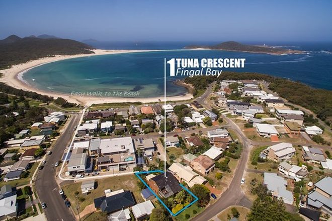 Picture of 1 Tuna Crescent, FINGAL BAY NSW 2315