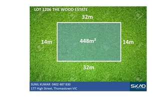 Picture of Lot 1206 The Wood Estate, Mickleham VIC 3064
