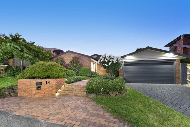 Picture of 14 Haversham Avenue, WHEELERS HILL VIC 3150