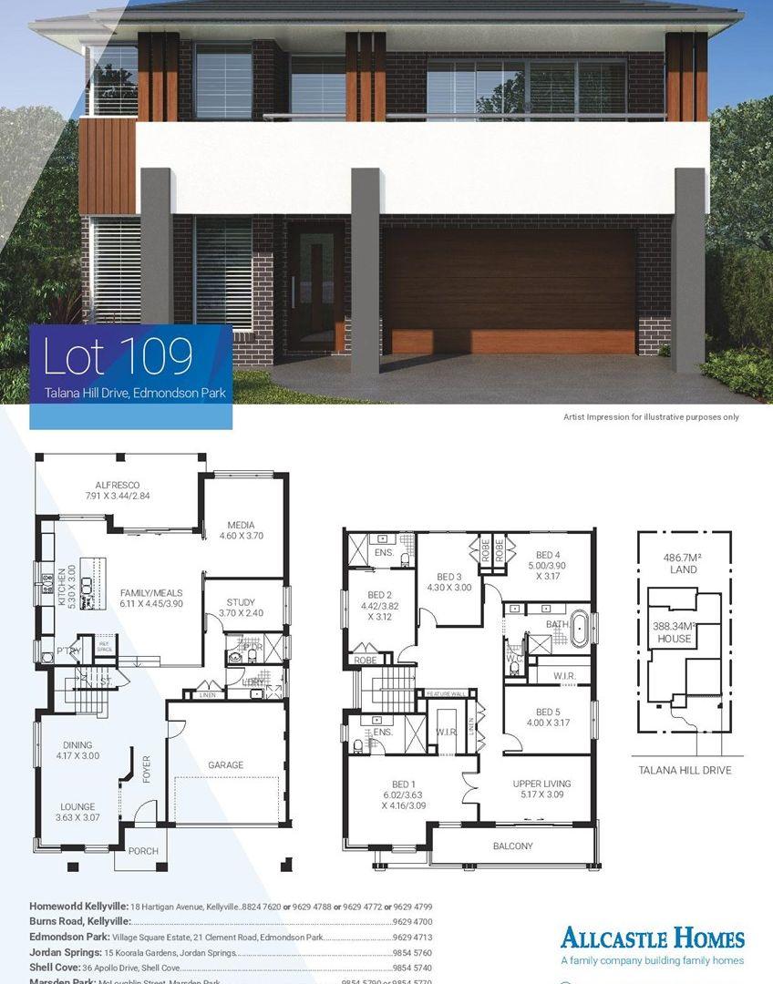 Lot 109 Talana Hill Drive, Edmondson Park NSW 2174, Image 1