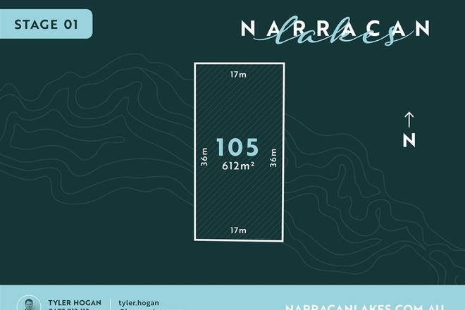 Picture of Lot 105 Narracan Lakes, NEWBOROUGH VIC 3825