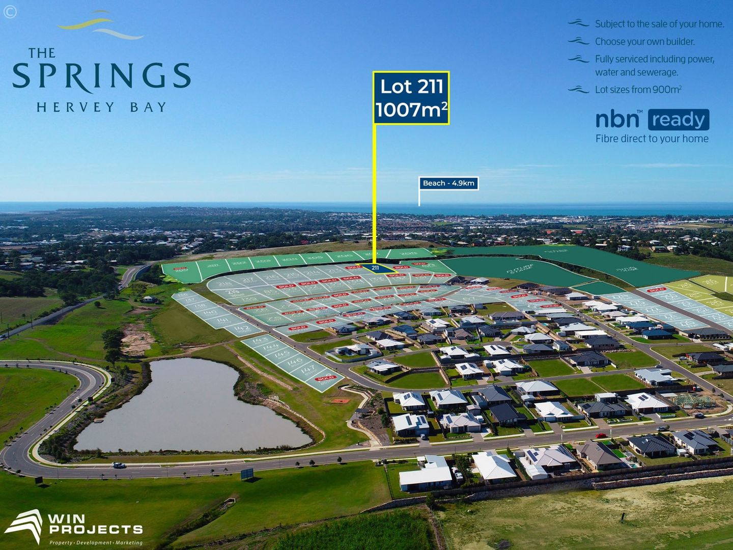 Lot 211 The Springs, Nikenbah QLD 4655, Image 0