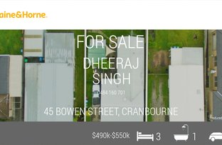 Picture of 45 BOWEN STREET, Cranbourne VIC 3977