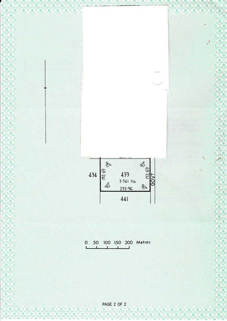 Section 433 Haselgrove Road, Kadina SA 5554, Image 0