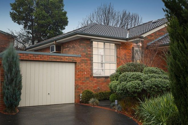 Picture of 3/2 Milton Street, CANTERBURY VIC 3126