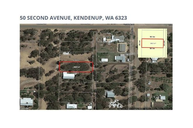 Picture of 50 Second Avenue, KENDENUP WA 6323