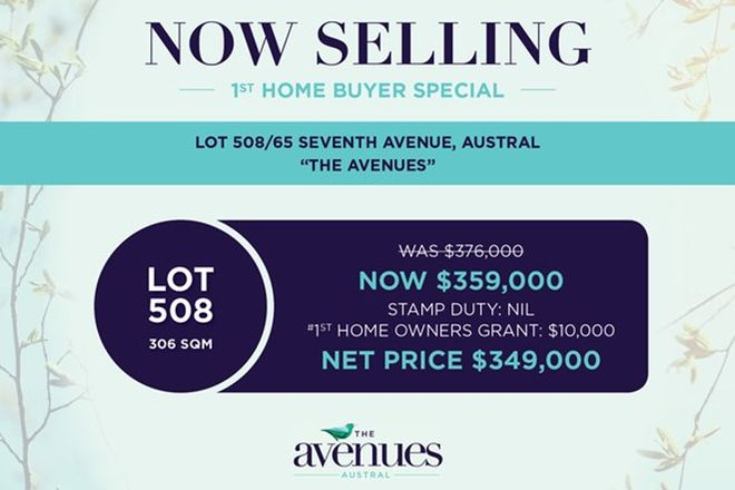 Picture of Lot 508, 65 Seventh Avenue, AUSTRAL NSW 2179