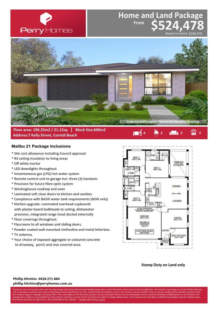 7 Kelly Street, Corindi Beach NSW 2456, Image 1