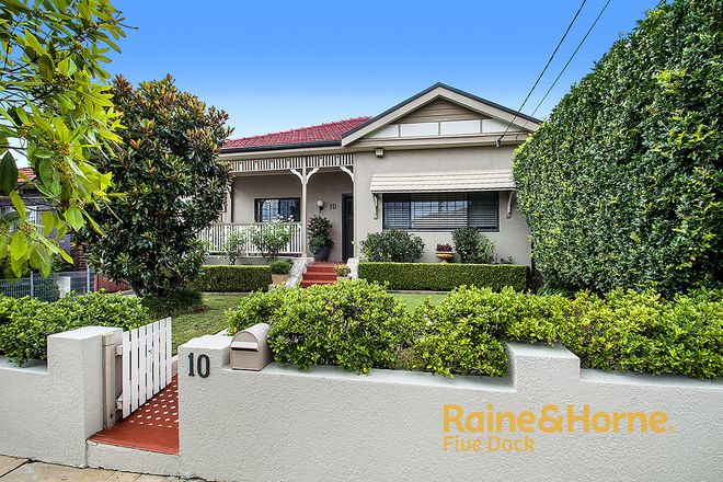 Picture of 10 SUTTON STREET, FIVE DOCK NSW 2046