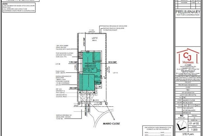 Picture of Lot 9 Mario Close (The Heights Estate), RICHLANDS QLD 4077
