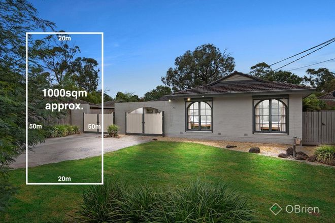 Picture of 42 Hazelwood Road, BORONIA VIC 3155