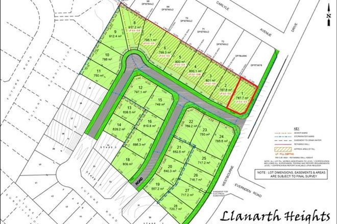 Picture of Lot 1 Westbourne Drive, LLANARTH NSW 2795