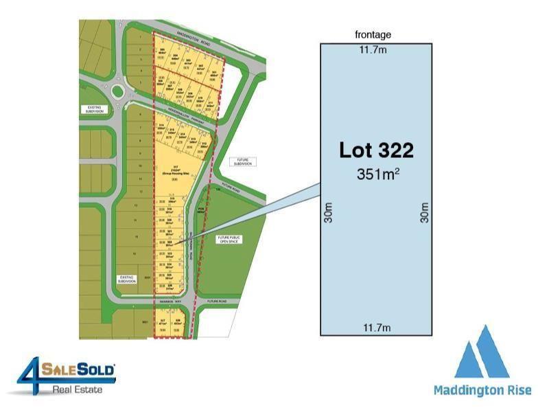 Lot 322 Ballyronan Rd, Maddington WA 6109, Image 0