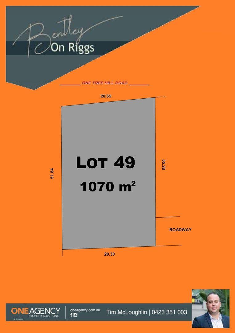 Lot 49 Stage 1 Bentley on Riggs, Evanston Park SA 5116, Image 0