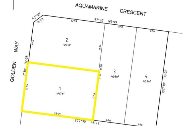 Picture of Lot 1, 21 Golden Way, SKYE VIC 3977