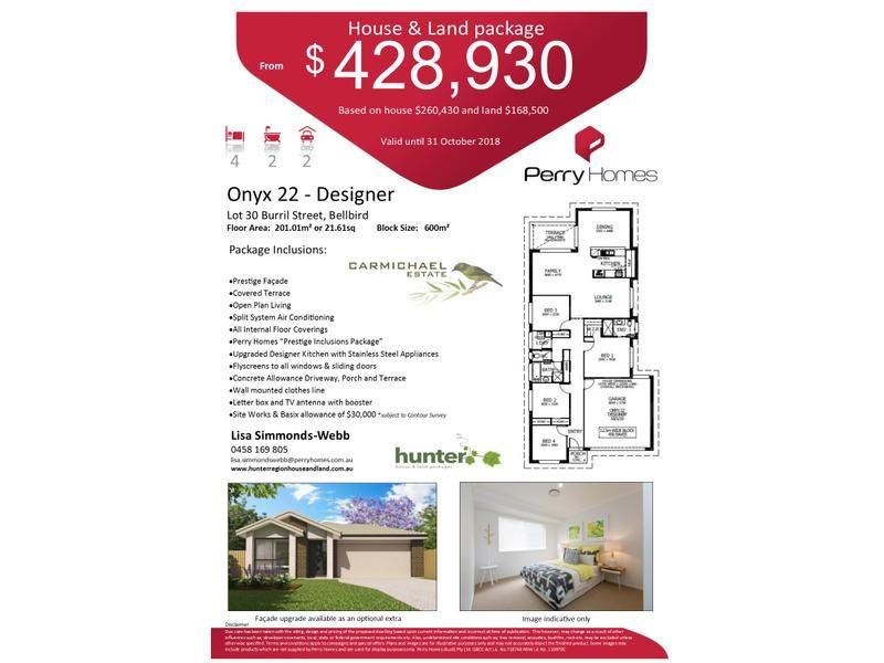 Lot 30 Burril Street, Bellbird NSW 2325, Image 1