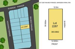 Picture of Lot 2287 Milnes Parade, Marsden Park NSW 2765