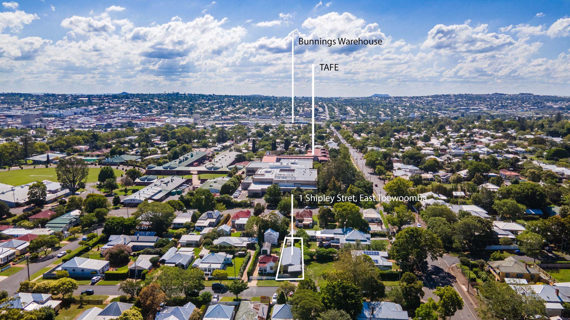 1 Shipley Street, East Toowoomba QLD 4350, Image 1