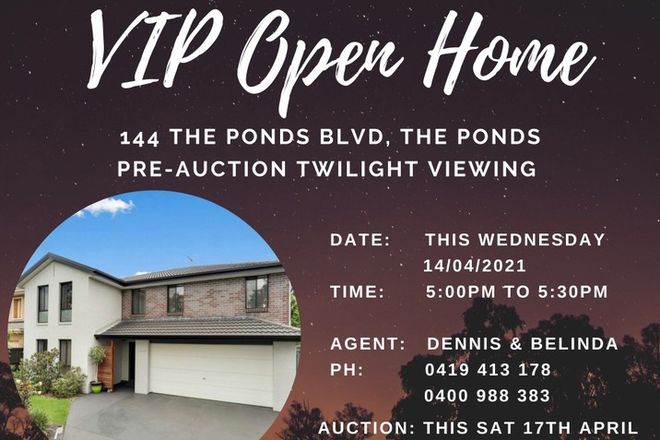 Picture of 144 The Ponds Boulevard, THE PONDS NSW 2769