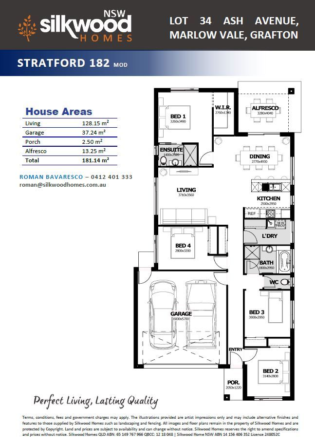Lot 34 Ash Avenue, Marlow Vale,, Grafton NSW 2460, Image 2