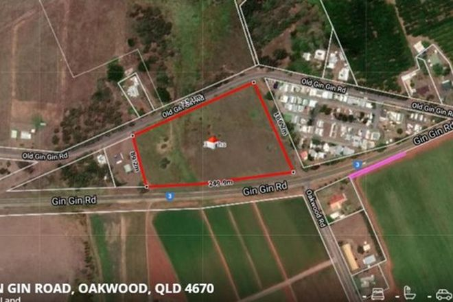 Picture of 4 Old Gin Gin Road, OAKWOOD QLD 4670