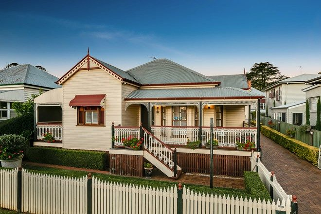Picture of 1 & 3/4 Burstow Street, EAST TOOWOOMBA QLD 4350