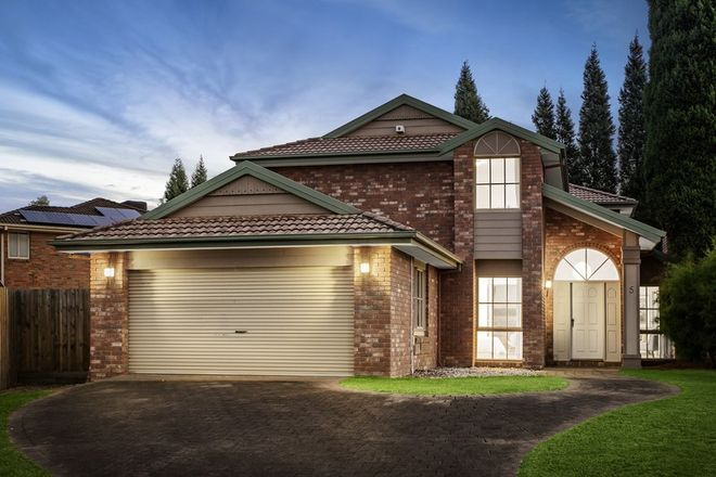 Picture of 5 Gera Court, WANTIRNA SOUTH VIC 3152