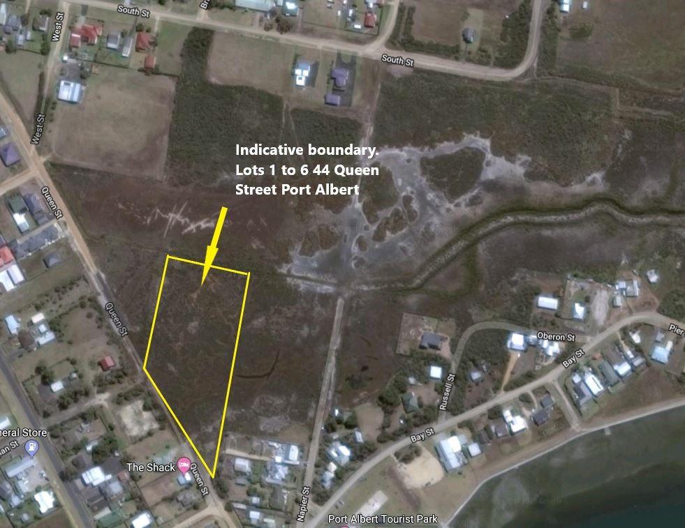 Lot 1 to 6 44 QUEEN STREET, Port Albert VIC 3971, Image 1
