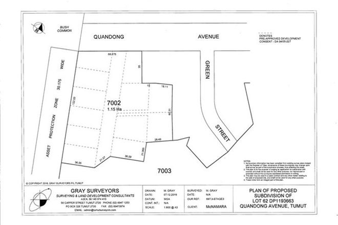 Picture of Lot 7002 Quandong Avenue, TUMUT NSW 2720