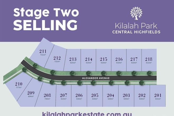 Picture of 208 Kilalah Park Estate, HIGHFIELDS QLD 4352