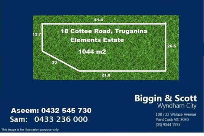 Picture of 18 Cottee Road, TRUGANINA VIC 3029