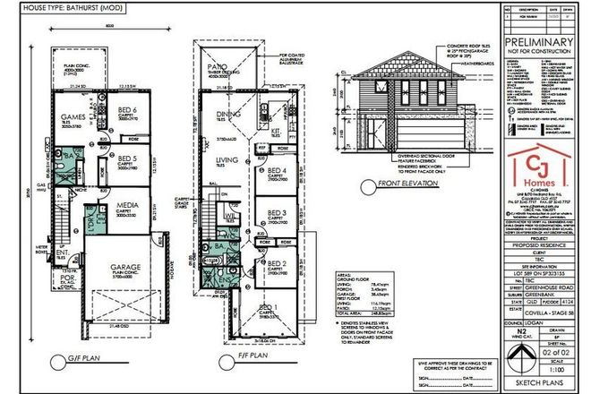 Picture of Lot 589 Covella Estate, GREENBANK QLD 4124
