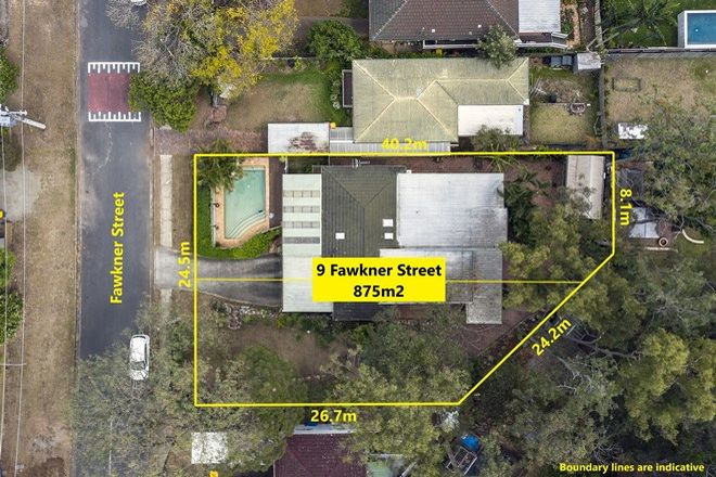 Picture of 7-9 Fawkner Street, CHAPEL HILL QLD 4069