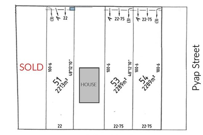 Picture of Lot 51 Twentyfirst Street, RENMARK SA 5341