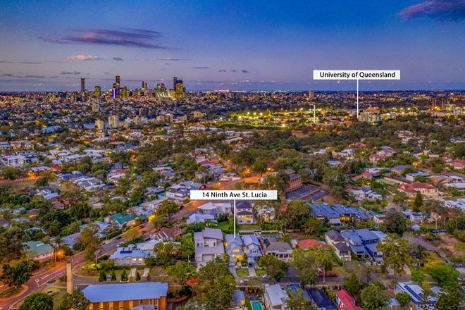 Picture of 14 Ninth  Avenue, ST LUCIA QLD 4067