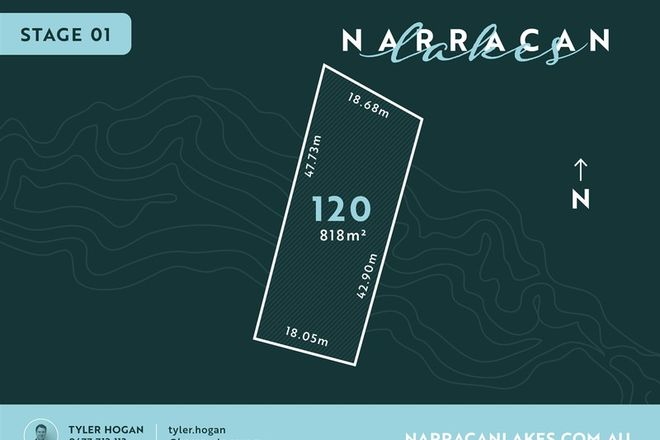 Picture of Lot 120 Narracan Lakes, NEWBOROUGH VIC 3825