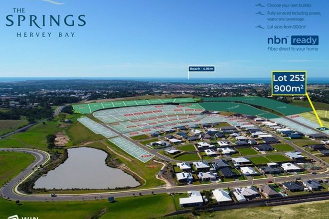 Picture of Lot 253 The Springs, NIKENBAH QLD 4655