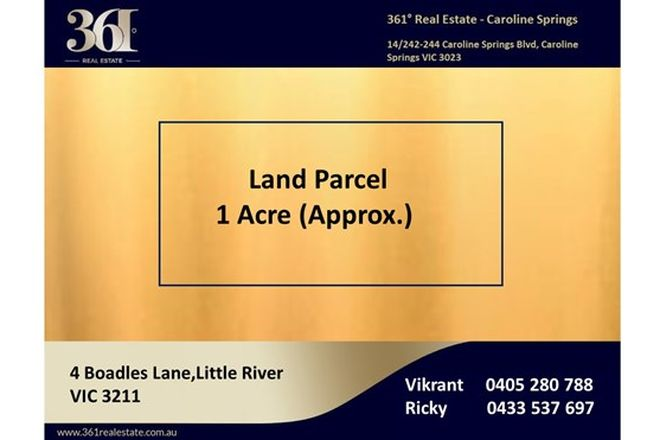 Picture of 4 Boadles Lane, LITTLE RIVER VIC 3211