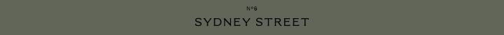 Branding for No.6 Sydney Street