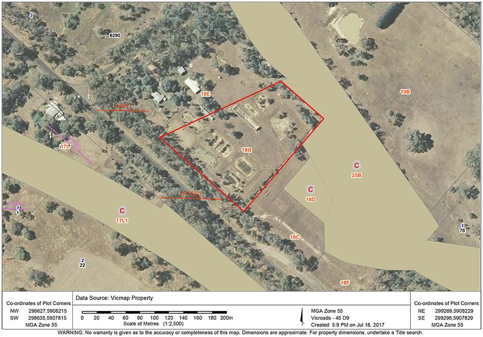 Lot 18B Northern Highway, Heathcote VIC 3523, Image 1