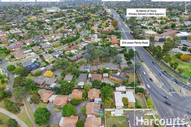 Picture of 314 Lower Plenty Road, ROSANNA VIC 3084