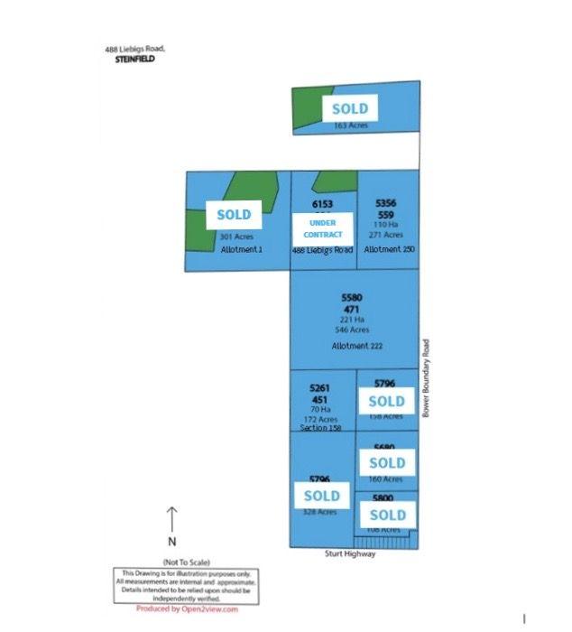 Lot 222 Bower Boundary Road, Steinfeld SA 5356, Image 2