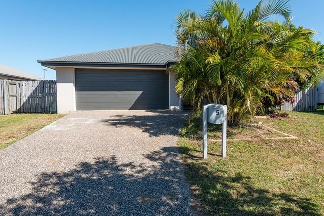 Picture of 5 Moreton Drive, RURAL VIEW QLD 4740