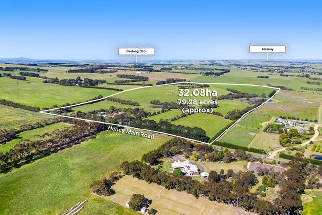 Picture of 115 Hendy Main Road, GNARWARRE VIC 3221