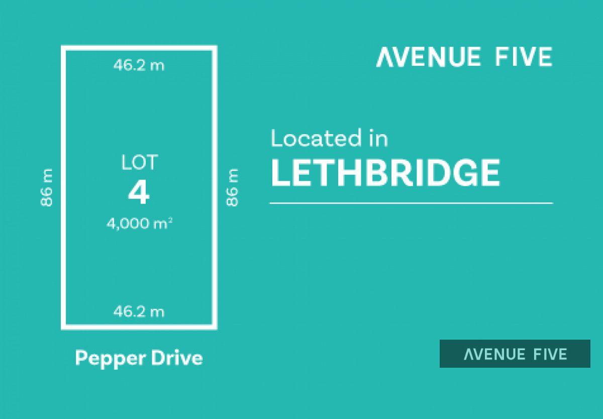 Lot 4 Pepper Drive, Lethbridge VIC 3332, Image 0