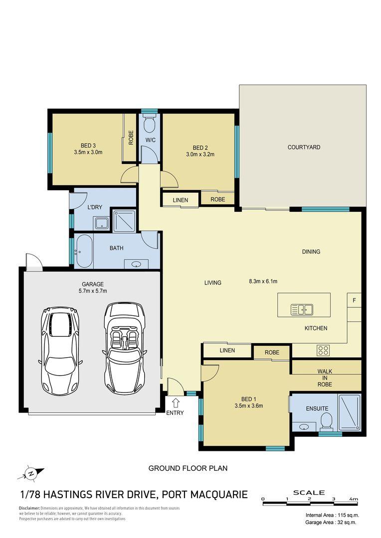1/78 Hastings River Drive, Port Macquarie NSW 2444 - Villa For Sale