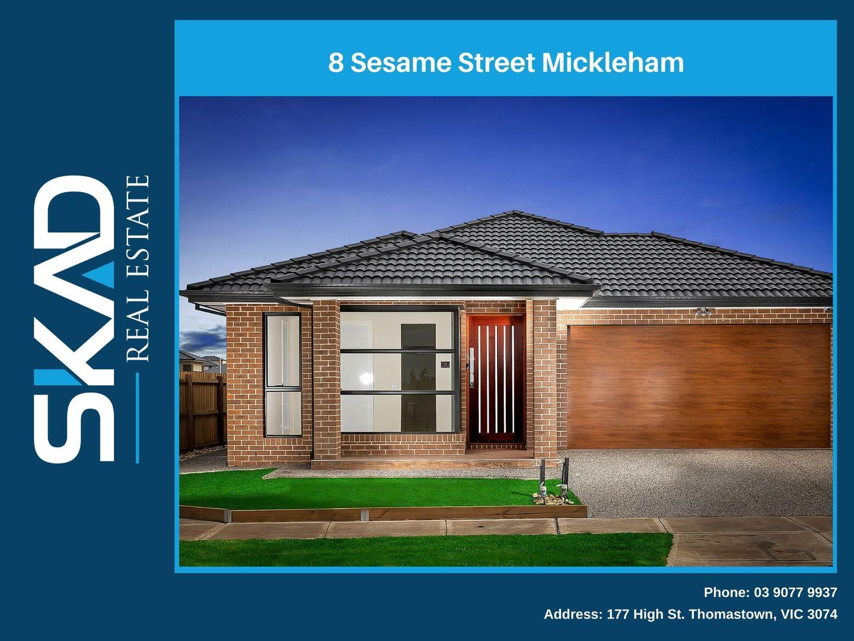 8 Sesame Street, Mickleham VIC 3064, Image 0