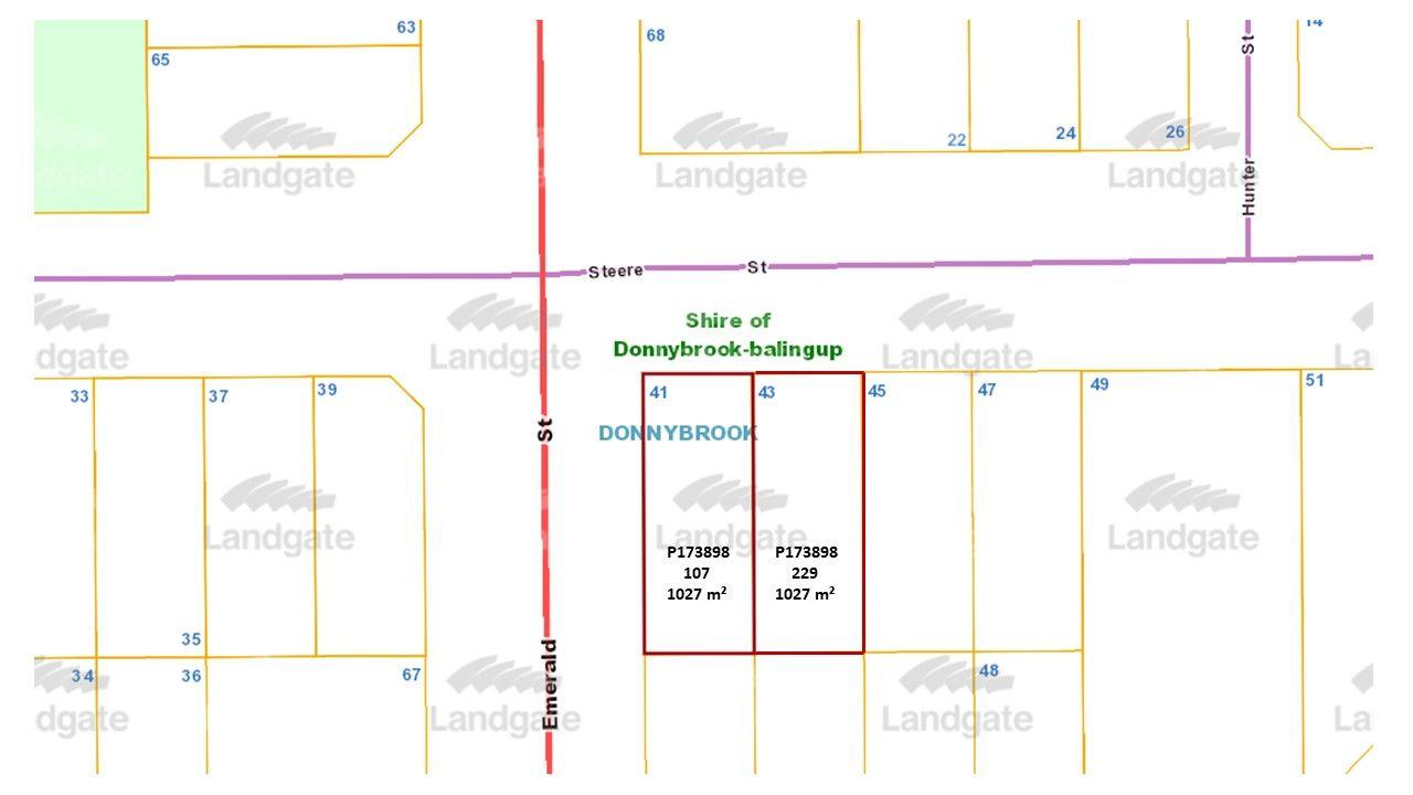 Lot 107 Steere St, Donnybrook WA 6239, Image 1