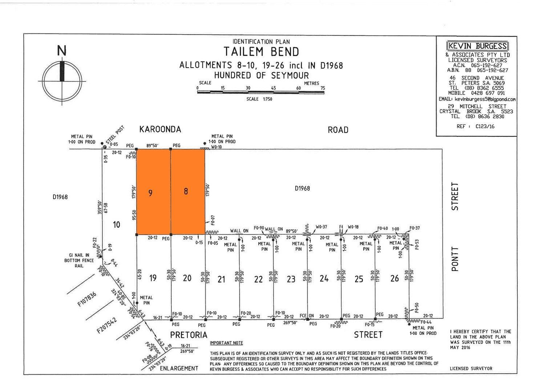 Lots 8 & 9 Kulde Road, Tailem Bend SA 5260, Image 0
